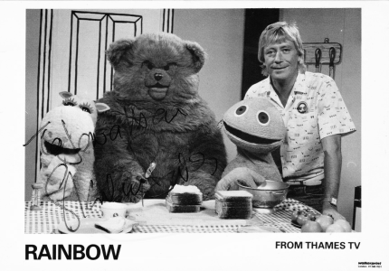 PICTURED: Geoffrey Hayes. SUPPLIED BY: Paul R. Jackson. COPYRIGHT: Thames.
