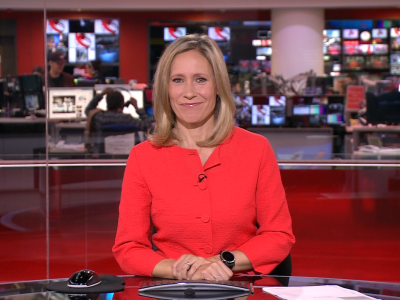PICTURED: Sophie Raworth.