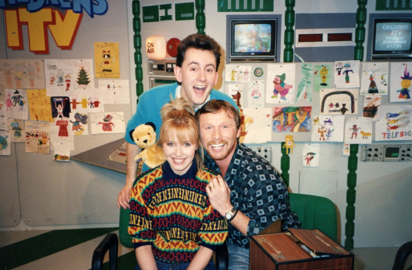 PICTURED: Gary Terzza; Debbie Shore; Matthew Corbett (and Sooty). SUPPLIED BY: Jeanne Downs. COPYRIGHT: ITV plc.