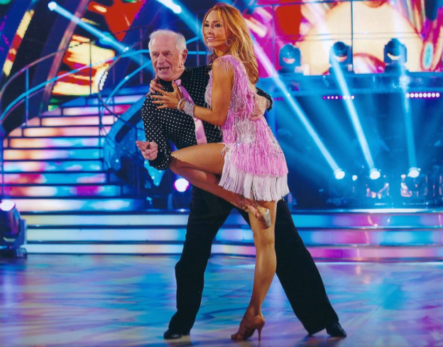 PICTURED: Johnny Ball (Strictly Come Dancing). SUPPLIED BY: Johnny Ball. COPYRIGHT: BBC.