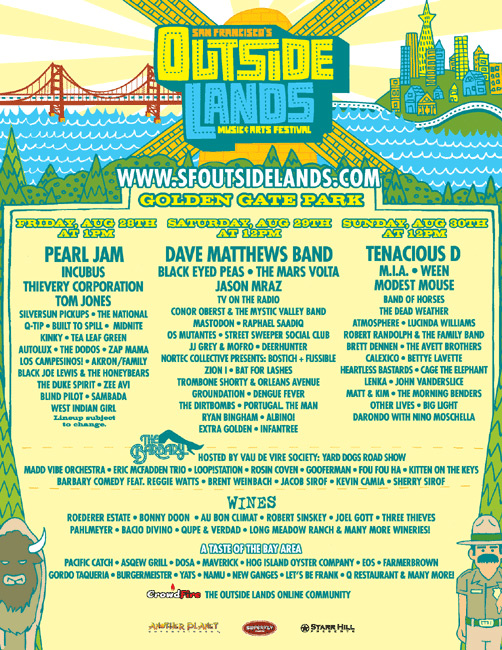2009 Outside Lands