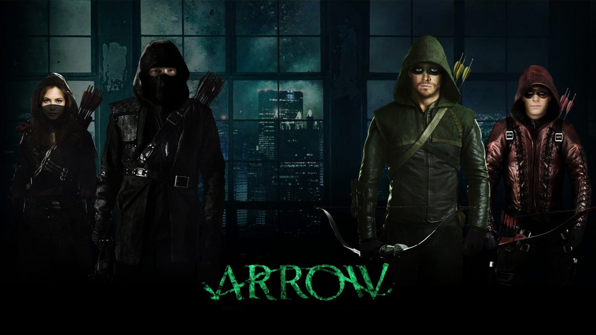 Arrow 8x9 - Green Arrow and the Canaries