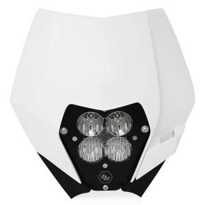 KTM Headlight Kit DC 08-13 LED W/Headlight Shell XL Sport Baja Designs