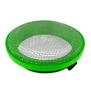 Turbo Screen 6.0 Inch Lime Green Stainless Steel Mesh W/Stainless Steel Clamp S&B