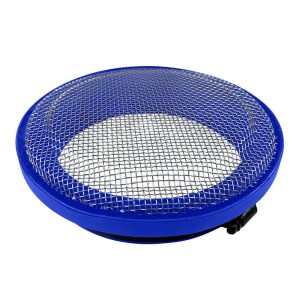 Turbo Screen 6.0 Inch Blue Stainless Steel Mesh W/Stainless Steel Clamp S&B