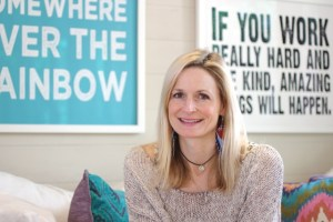 Jen Pleasants showthelove owner and designer