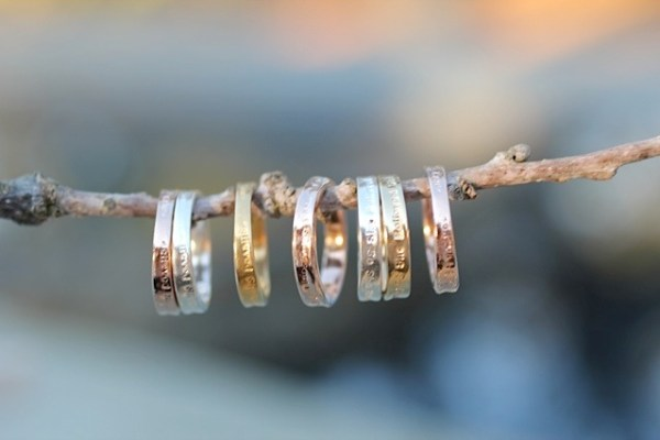 Jewelry made from recycled sterling silver, and 14kt gold plated or rose gold plated