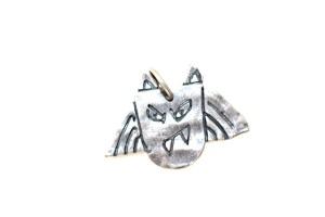 Little Monster Protector charms Jewelry made from recycled sterling silver