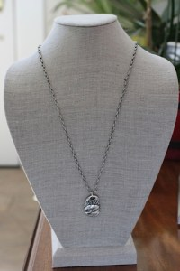 One Day at a Time recovery necklace Jewelry made from recycled gold and brass or sterling silver