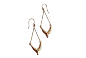 Isis Earrings in Gold