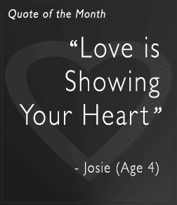 Love is Showing Your Heart