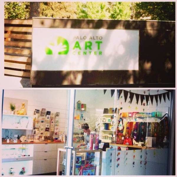 showtheLOVE is now in the Gallery Shop at the Palo Alto Art Center! We are happy to be in a place that does so much for local artists and inspires others to show their creativity! #showthelove #paloaltoartcenter #shopping