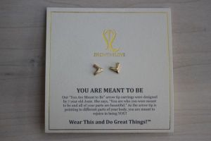 You are meant to be earrings showthelove
