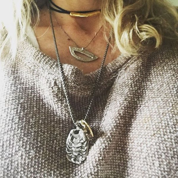 #nevertheless #shepersisted #necklace money goes to #ACLU #showthelovejewelry