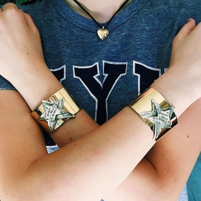 Feel Your Power ️Get our limited edition cuff to remind you of your own strength and power everyday. Wonder Woman is not a character, but a mindset. #showthelovejewelry