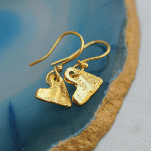 show the love earrings