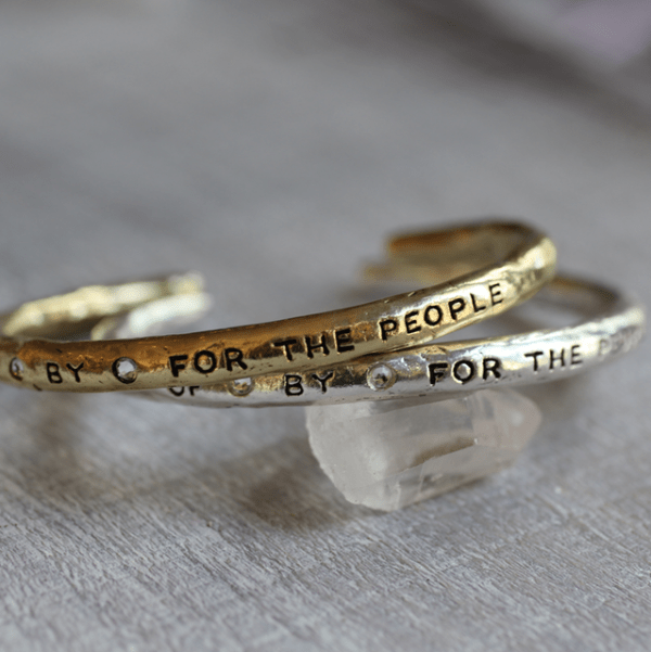 OfByFor the People Bangle Cuff
