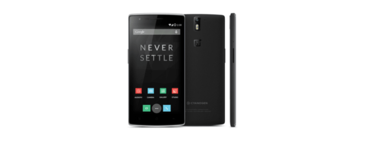 How to take a screenshot on the OnePlus One Cynogenmod Android smartphone