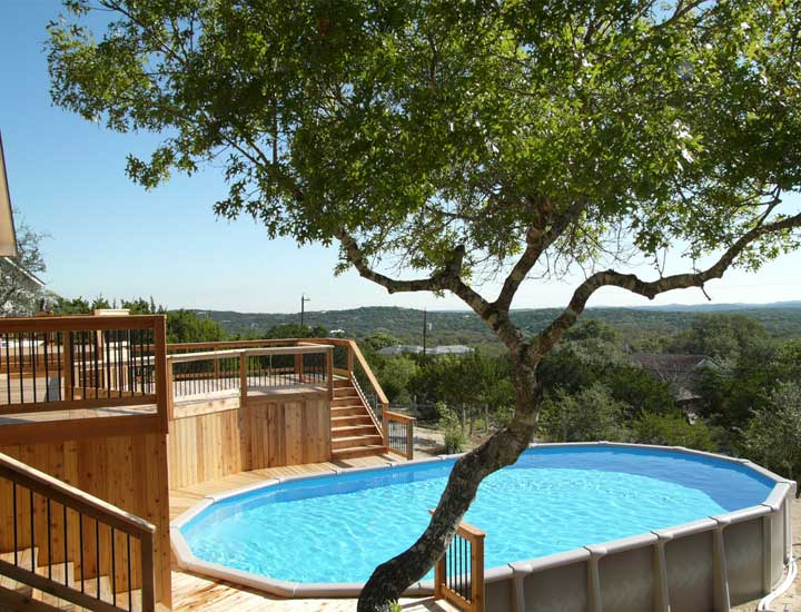 Pool in Hill Country - San Antonio