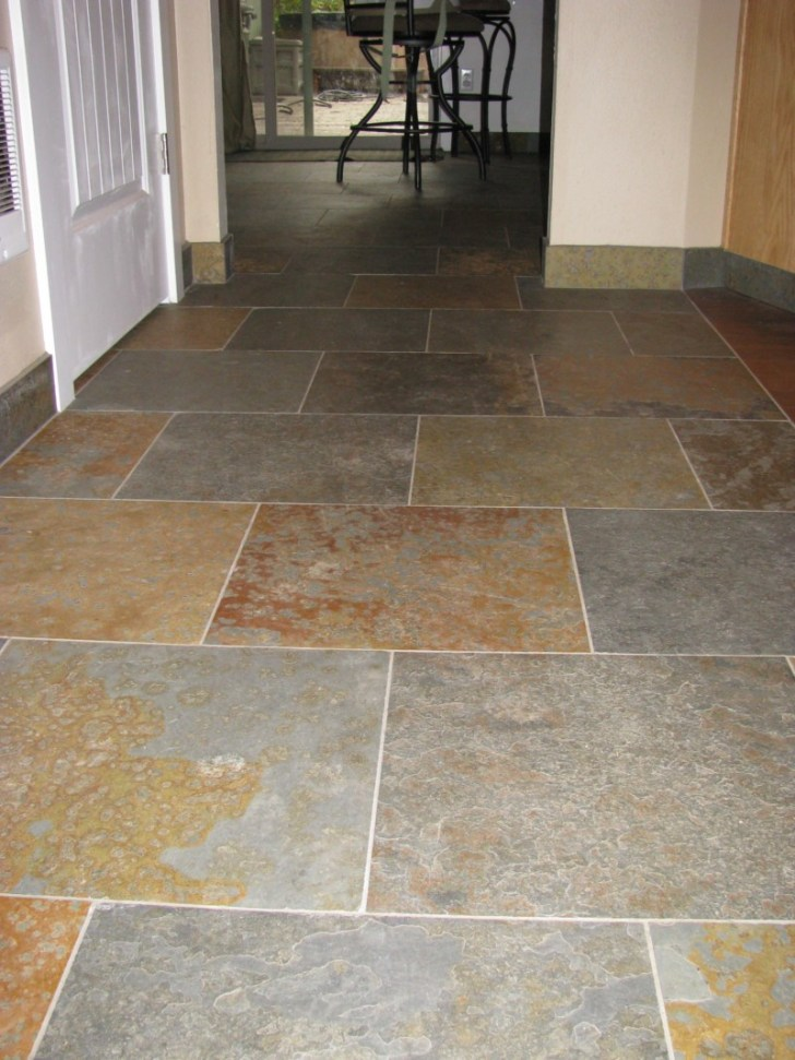 Best 15 slate floor tile kitchen ideas diy design decor for Oregon floor