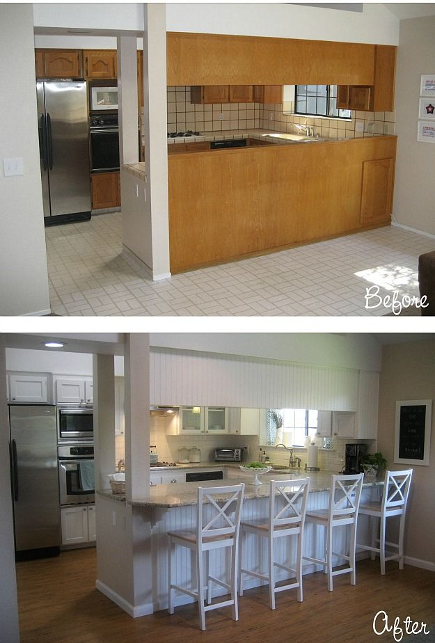 "Before & After: Carolyn's ""Yucky"" 1980s Kitchen"