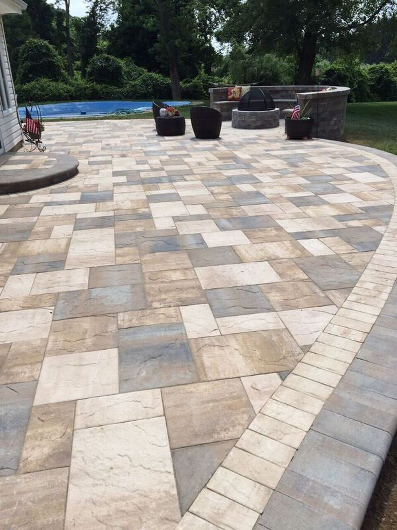 13+ Best Paver Patio Designs Ideas - DIY Design & Decor on Rock Patio Designs  id=20190
