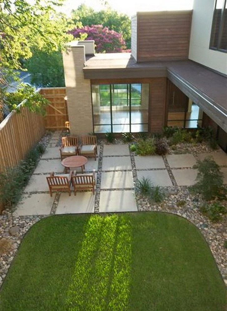 13+ Best Paver Patio Designs Ideas - DIY Design & Decor on Small Backyard Brick Patio Ideas  id=66208