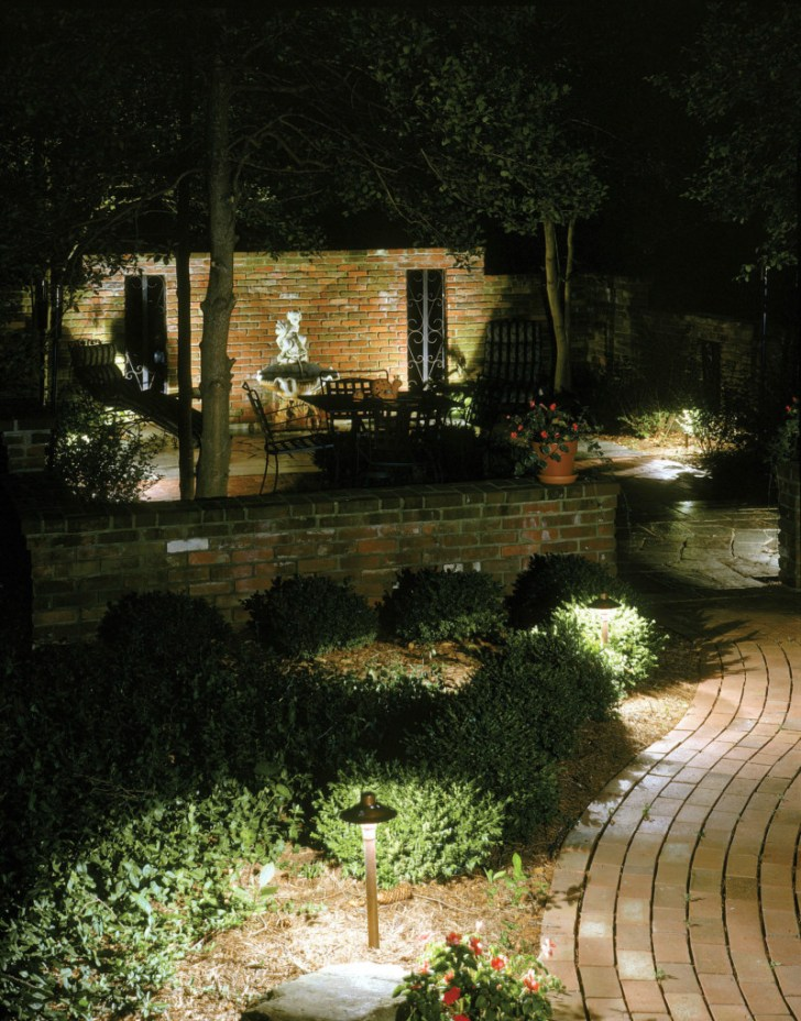 Stunning Minneapolis path and deck lighting
