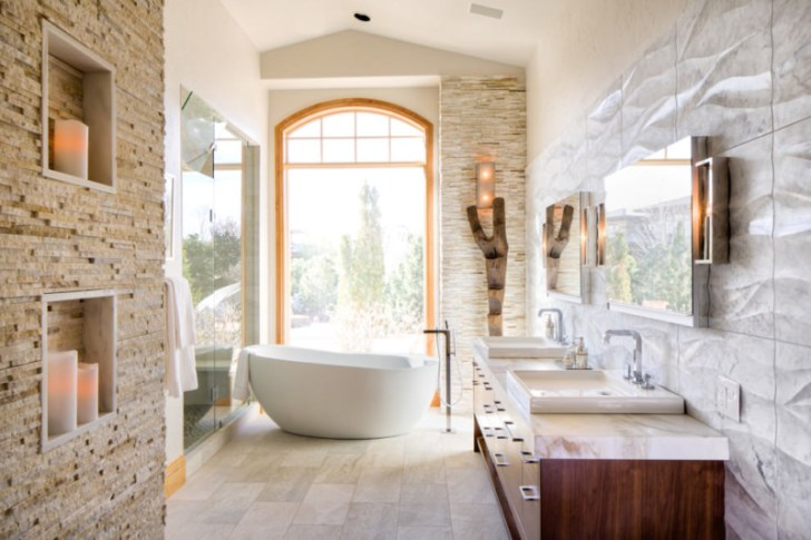 Chic Suite Spa Bathroom Design