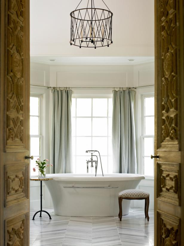 Elegant Symmetry spa bathroom