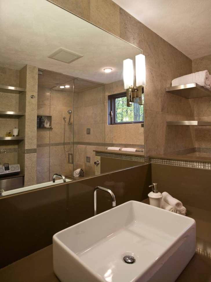 Spacious Spa Bathroom Design