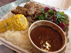 Carribean Roast Pork Plate from Paseo ($12.50)