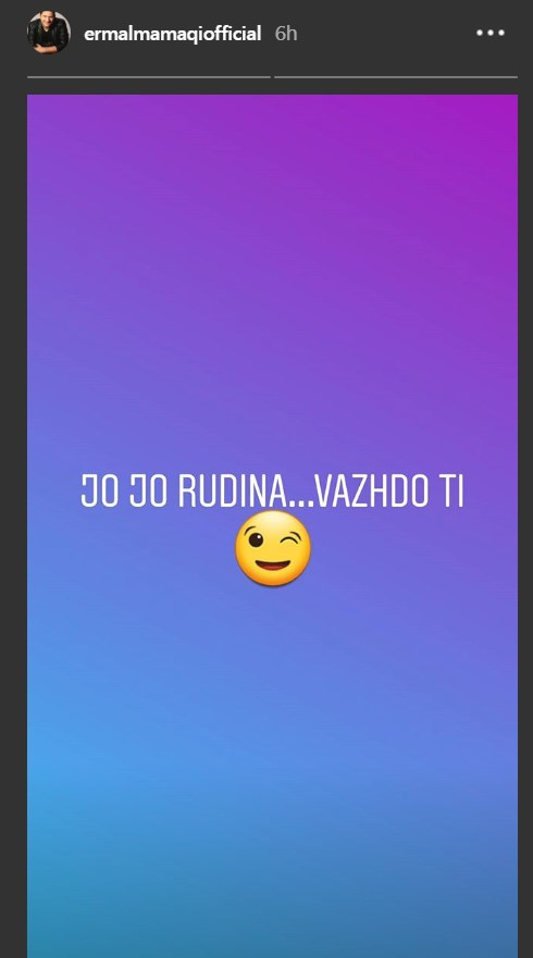 """""""Po hakmerresh se ftova kunatin tënd"""", Rudina i përgjigjet Tunës, ka një porosi edhe për Ermalin"""
