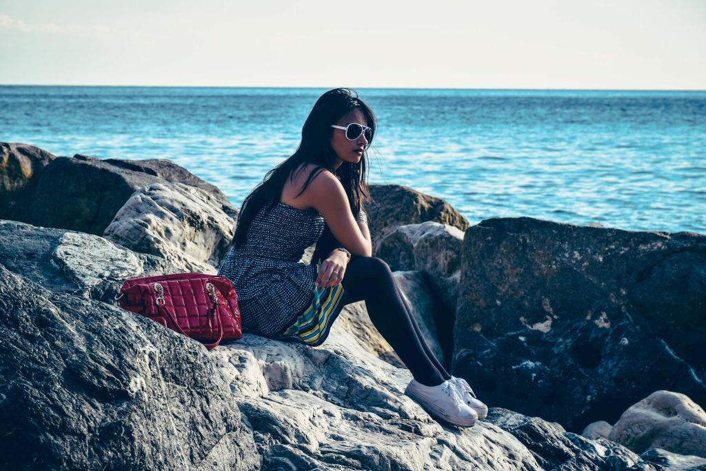 Fashion shoot Cinque terre