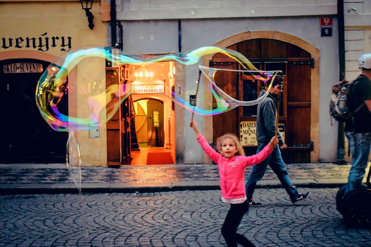 Prague Foam Bubble