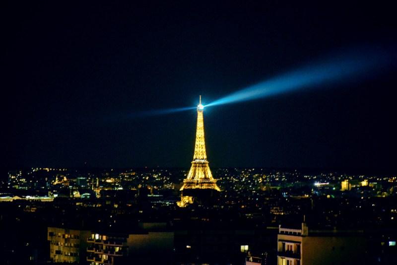 Effiel Tower at night
