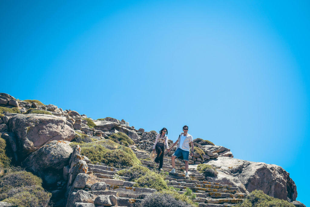delos stairs