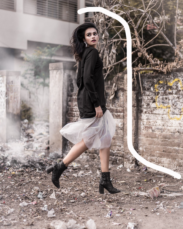 1 Sweater Dress, 2 Ways – Lesara