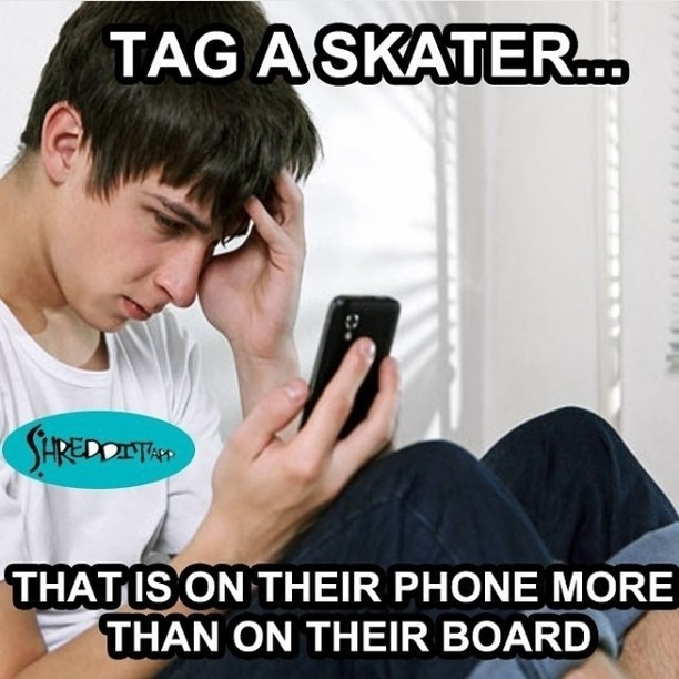 Tag the homies like this via @shredditapp…