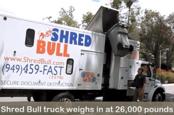 Shred Bull Shredding Truck
