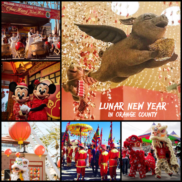 Lunar New Year in Orange County