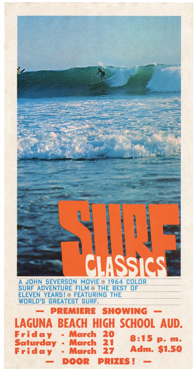 John Severson Surf Classics Poster