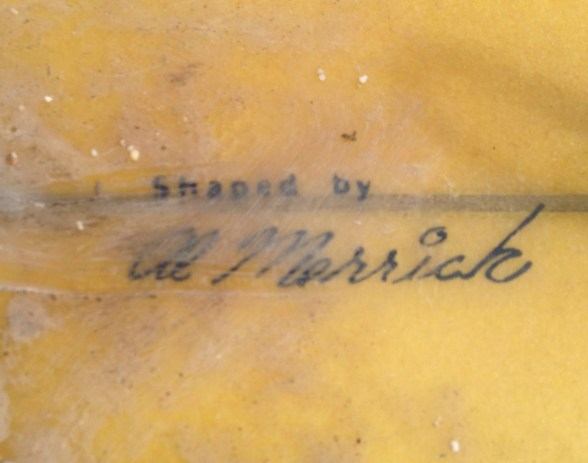 Al Merrick Signature