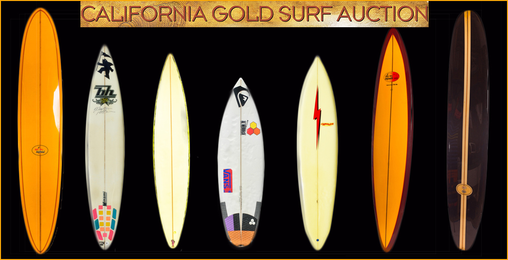 All That Glitters: California Gold Vintage Surf Auction