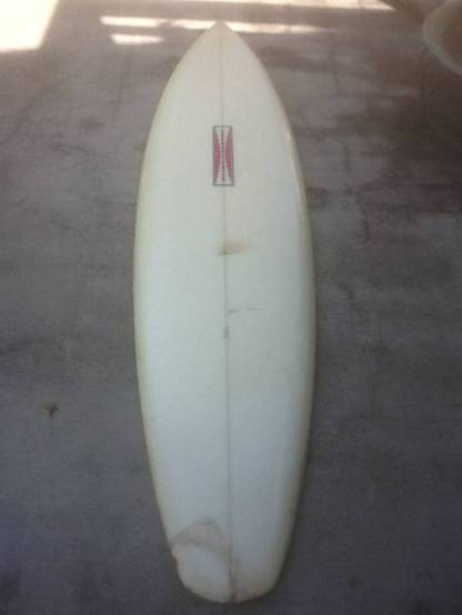 Gordon & Smith Skip Frye Single Fin 1973-1975 6'106