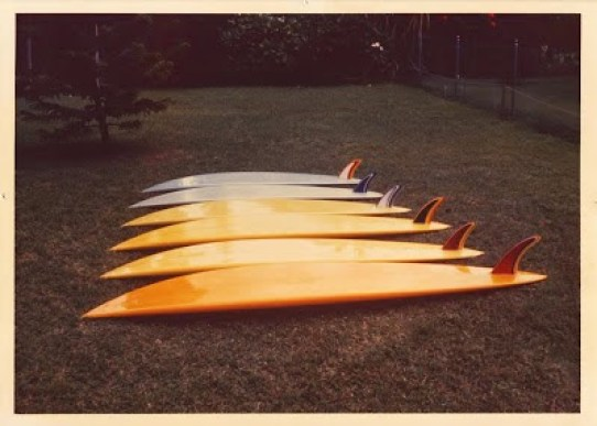 Russell Surfboards Shawn Stussy Puerto Escondido Quiver.jpg