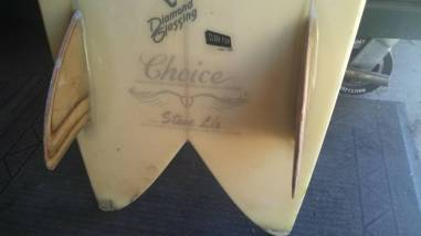 Choice Surfboards Steve Lis Fish 4