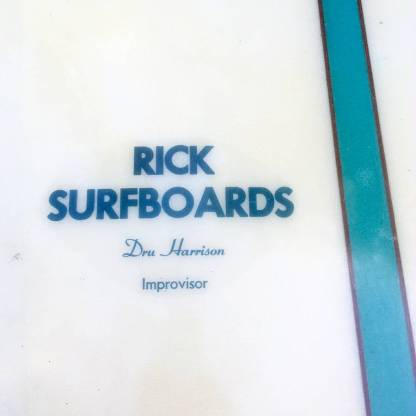 Rick Surfboards Dru Harrison Improvisor 1967 9'8