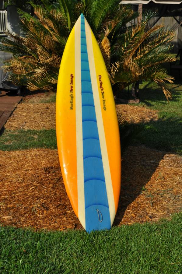Surfing's New Image Rick Hamon 80s Single Fin1