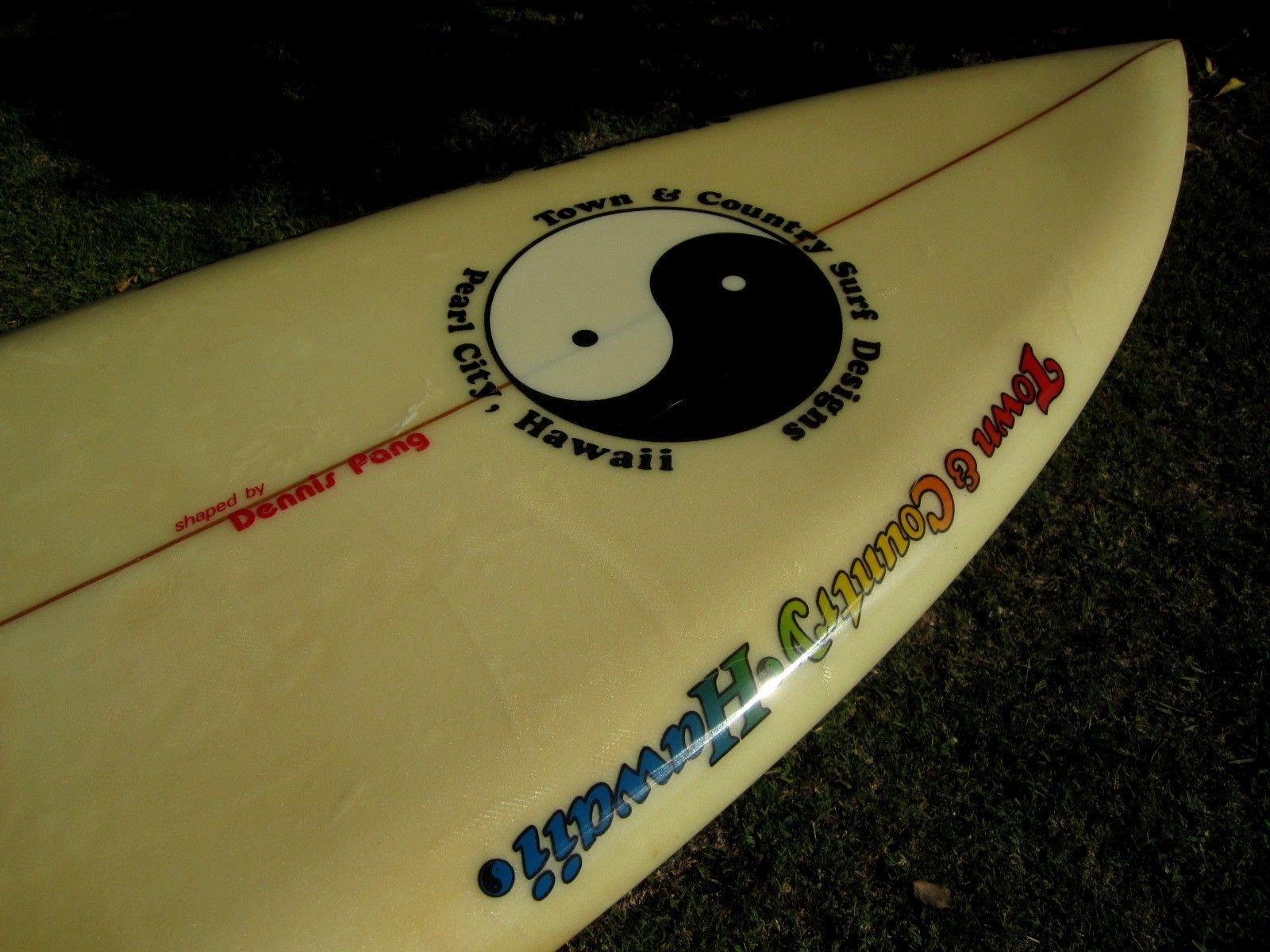 T&C Dennis Pang Single Fin 5'9 9